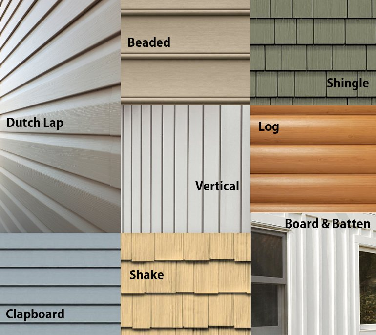Types of vinyl siding 8 styles to choose from 16 photos for Types of wood siding for houses
