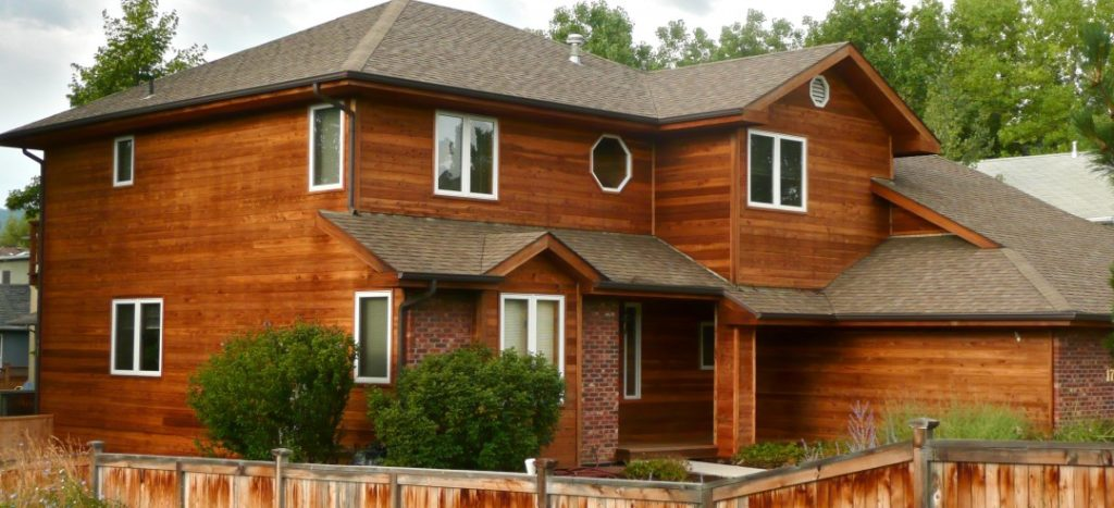 Natural Cedar Shaker Siding Cedar Siding Finish Options