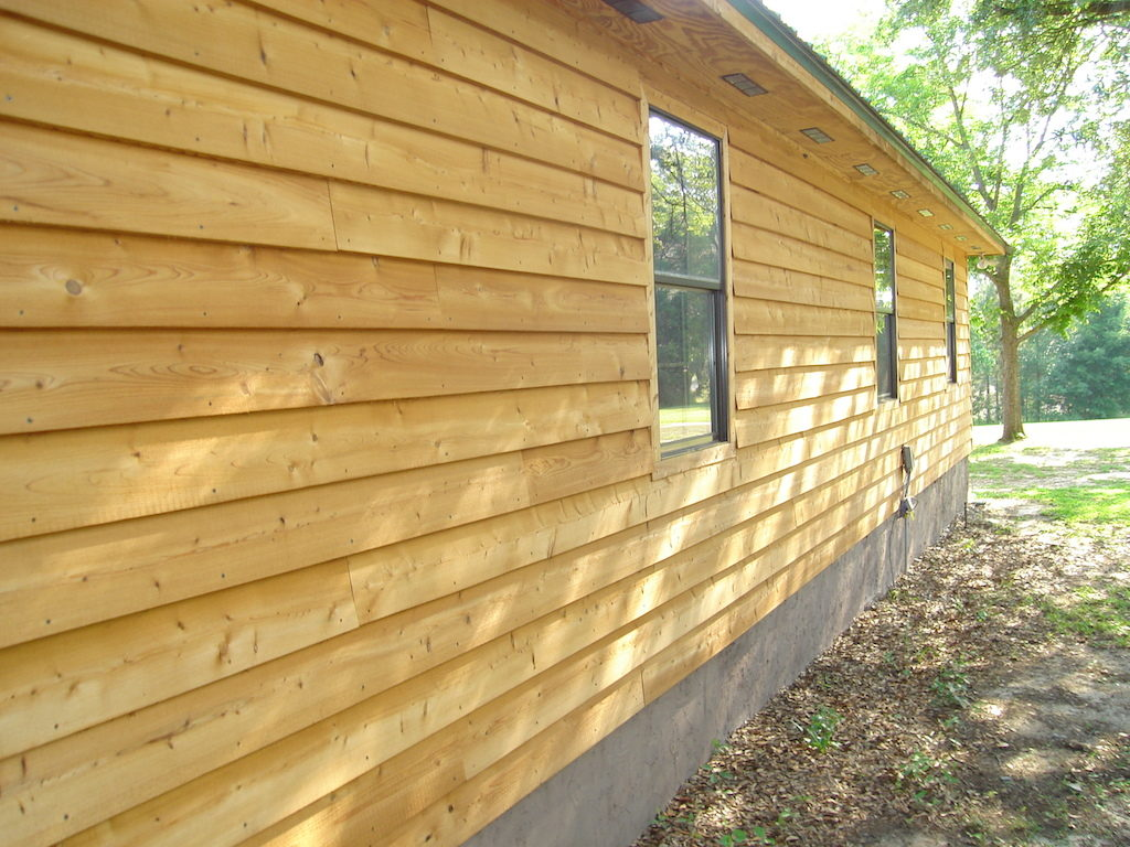 Best wood siding options 8 types to choose from siding for Horizontal wood siding panels