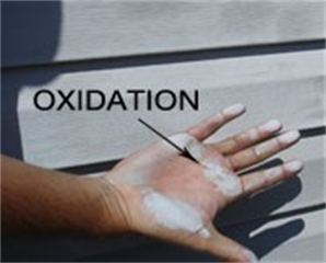 Aluminum Siding Oxidation
