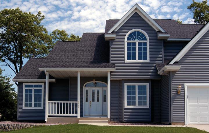 Aluminum Siding Home