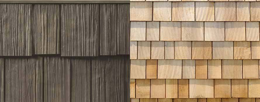 Cedar shingle siding cost guide calculate 2017 prices for Wood shingle siding cost