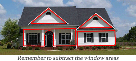 Siding Calculation Amp Exterior Sq Ft Estimation Methods