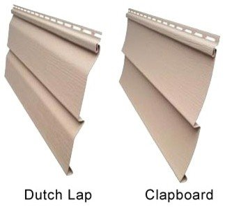 Dutch Lap vs Clapboard Traditional Lap