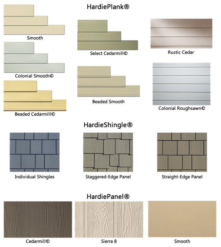 Hardiplank Styles