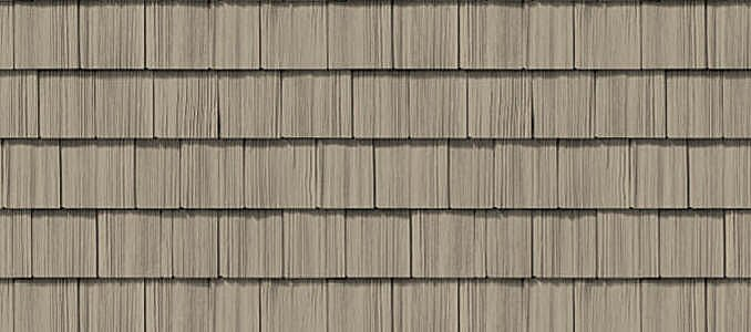 Straight Edge Shake Vinyl Siding