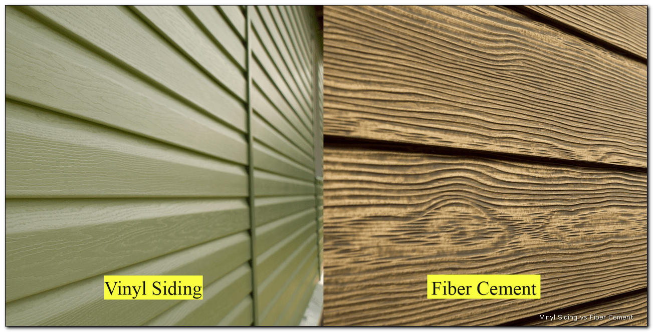 Types Of Siding Comparison Material