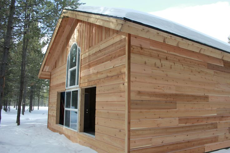 Drop Channel Siding on a House
