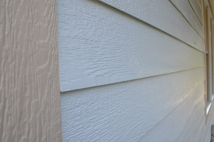 Engineered Wood Siding on a House