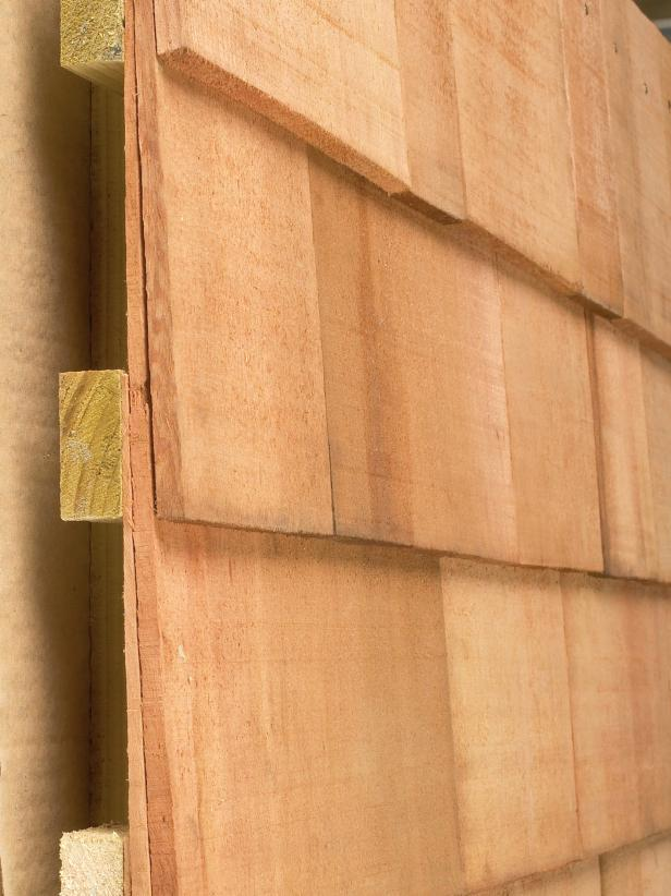 Shingle Wood Siding Profile View