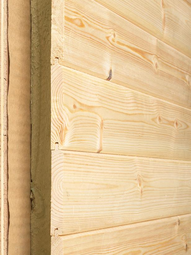 Tongue and Groove Siding Profile View