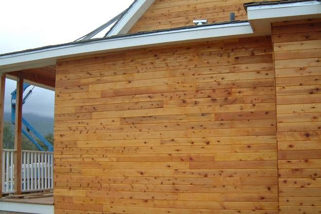 Tongue and Groove Siding on a House